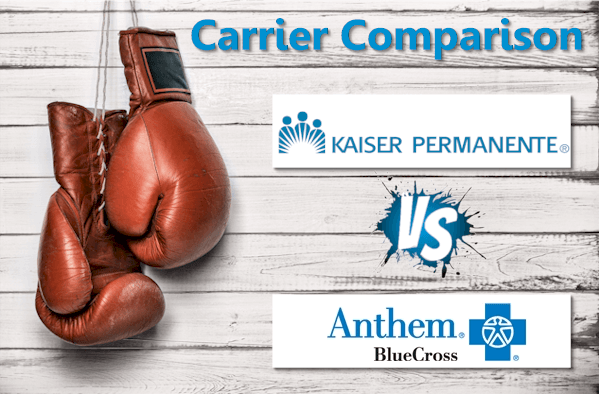 Kaiser Versus Anthem Blue Cross In California