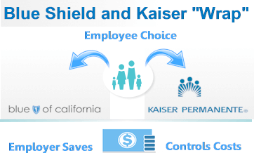 Blue Shield Kaiser wrap for employers