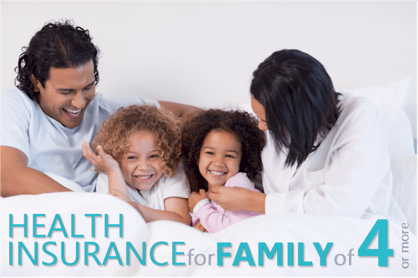 health insurance for larger family of 4, 5, or more