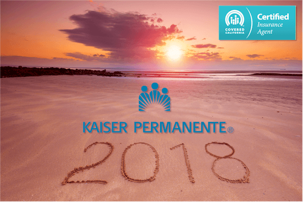 2018 Kaiser through Covered California plans and rates